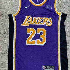 LeBron James 23 L.A Lakers Men's Sewn  jersey